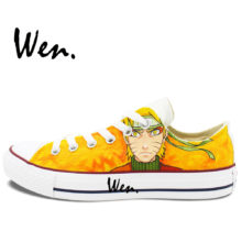 Great Uzumaki Naruto Converse-style sneakers